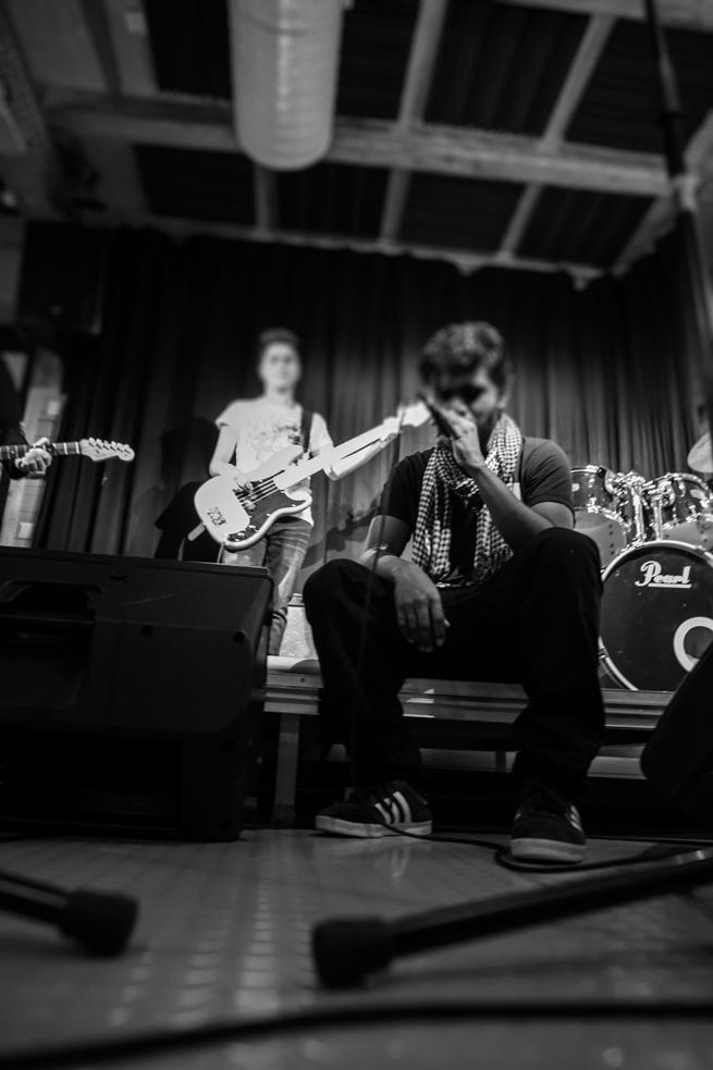 Å finne fram til og beherske en musikksjanger kan være viktig for egen identitet. Foto: Rune Solberg.