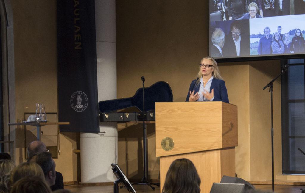 Stortingsrepresentant Ruth Grung. Foto: Rune Rolvsjord.