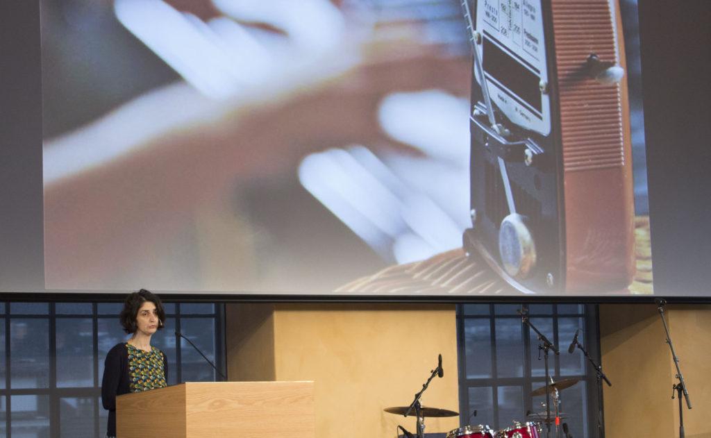 Karin Mössler er en av Uni Research Helse sine forsker ved GAMUT. Foto: Rune Rolvsjord.