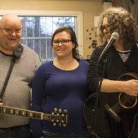 Tre av medlemmene i bandet Aesthetic Minds.