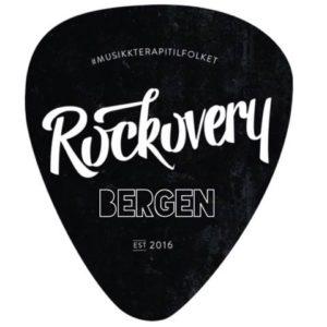 Plekter med Rockovery-logo